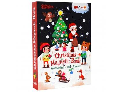 Magnetická kniha Vianoce - Christmas Magnetic Book