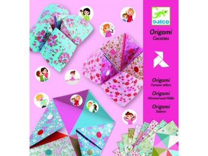 Tvorivá sada Origami - Nebo, peklo, raj (pre dievčatá)