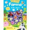 Farma - kniha aktivít s plstenými samolepkami