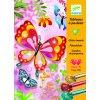 Výtvarná sada  Trblietavé motýle