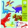 Papierové postavičky - Dinosaury