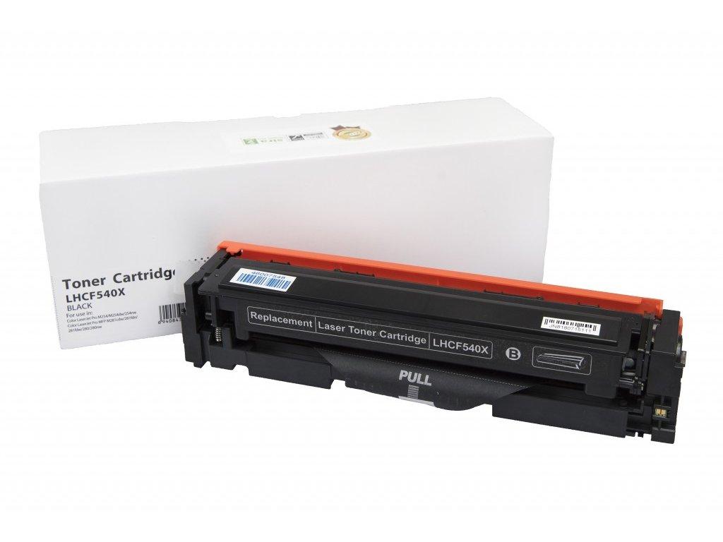 HP CF540X black - kompatibilný