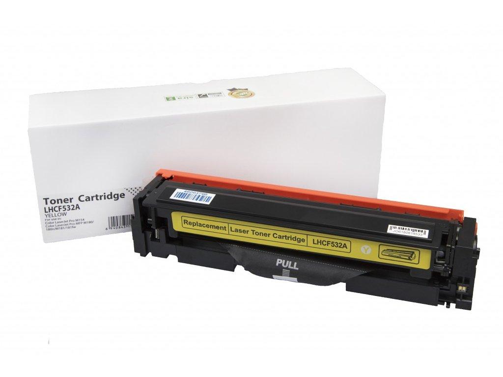 HP CF532A (205A) yellow - kompatibilný