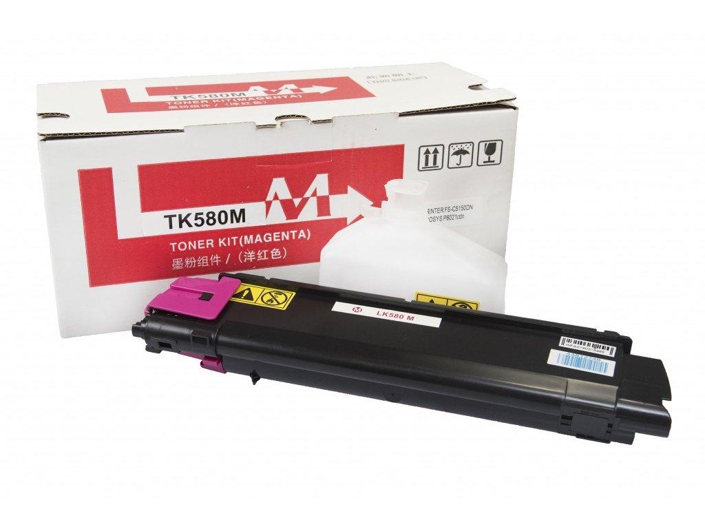 Kyocera Mita kompatibilná tonerová náplň, TK580M - magenta