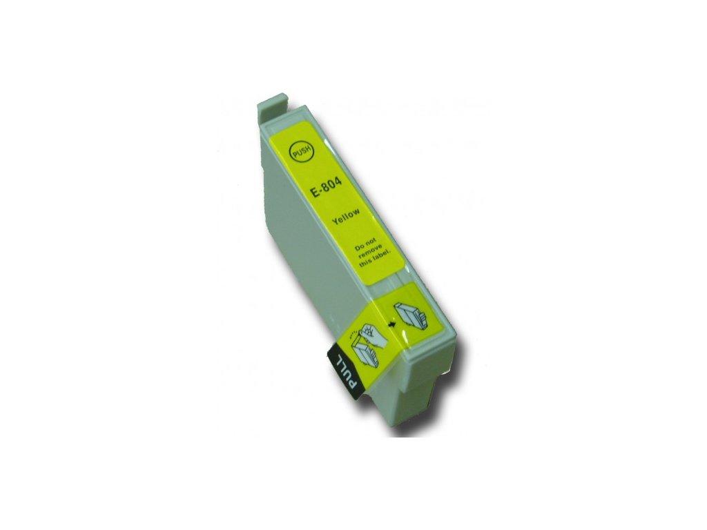 Epson T0804 yellow - kompatibilný