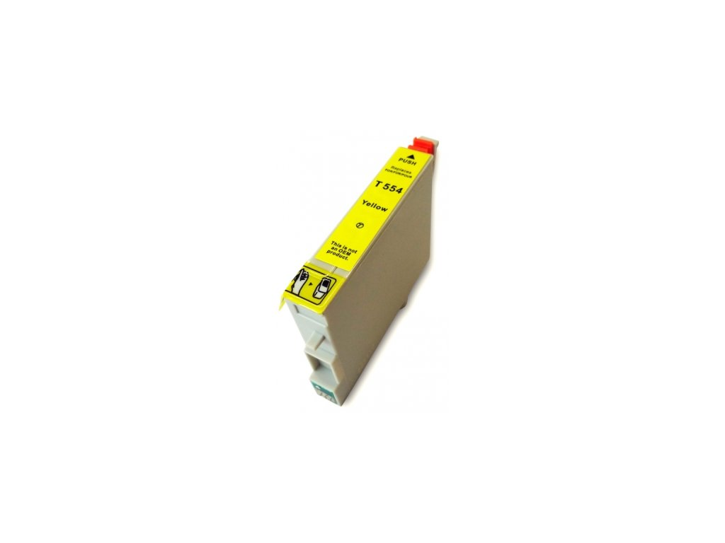 Epson T0554 yellow - kompatibilný