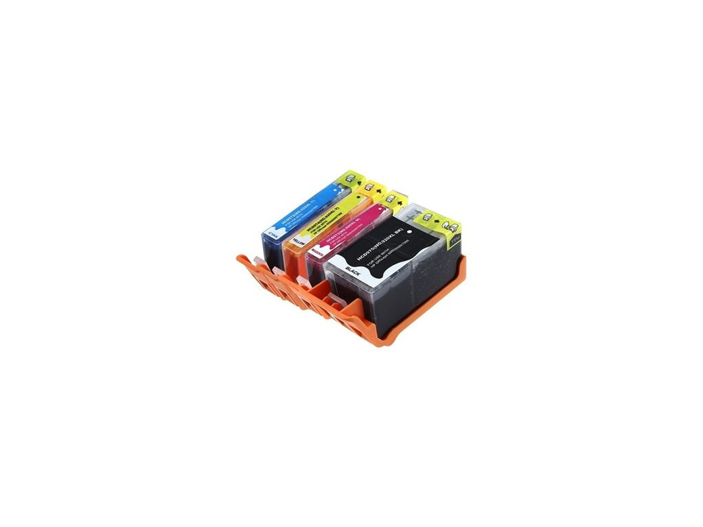 HP 920 XL (C2N92AE) multipack (4 náplne) - kompatibilný