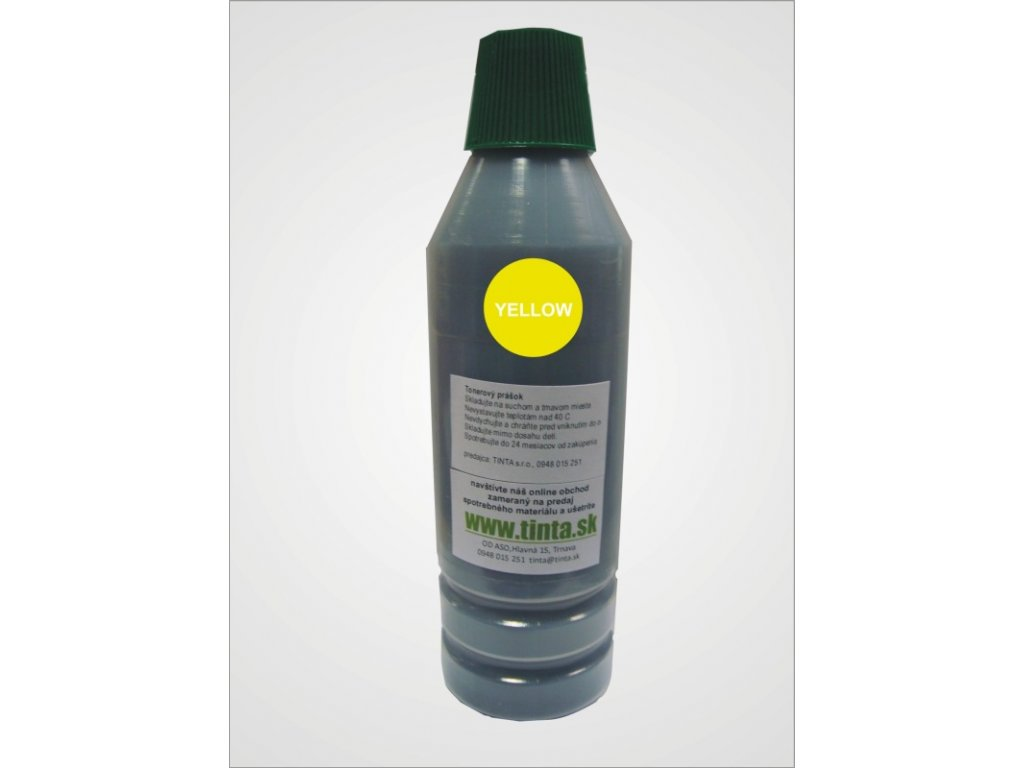 Tonerový prach pre Minolta 2500W/2530/2550 - yellow