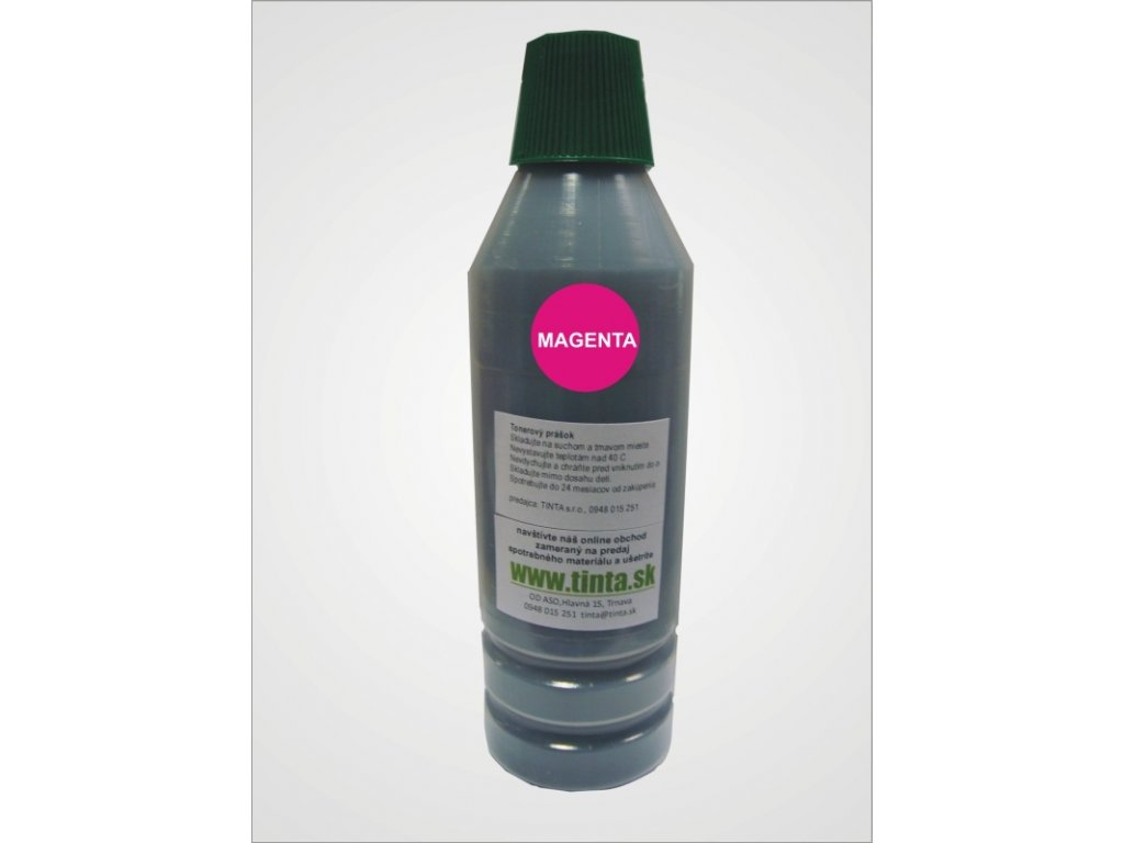 Tonerový prach  HP CC533A - magenta