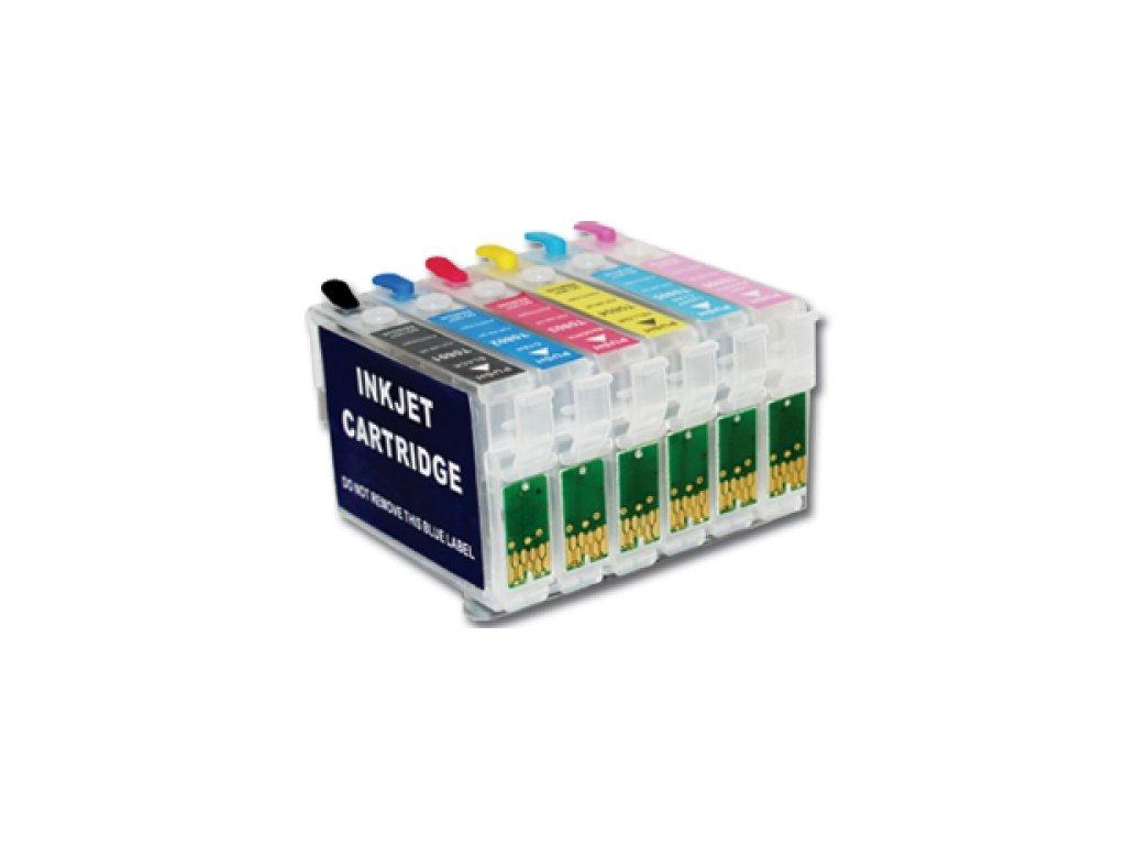 Epson T0801-T0806 (T0807) plniteľná sada kaziet