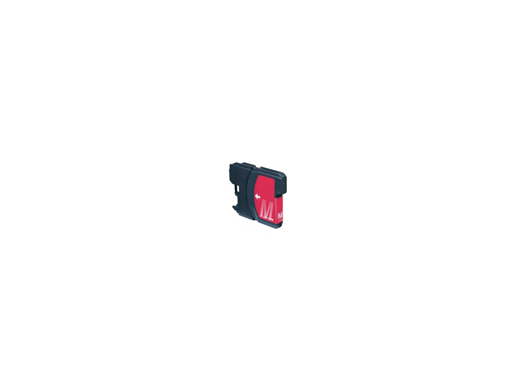 Brother LC-980 / LC-1100 magenta - kompatibilný
