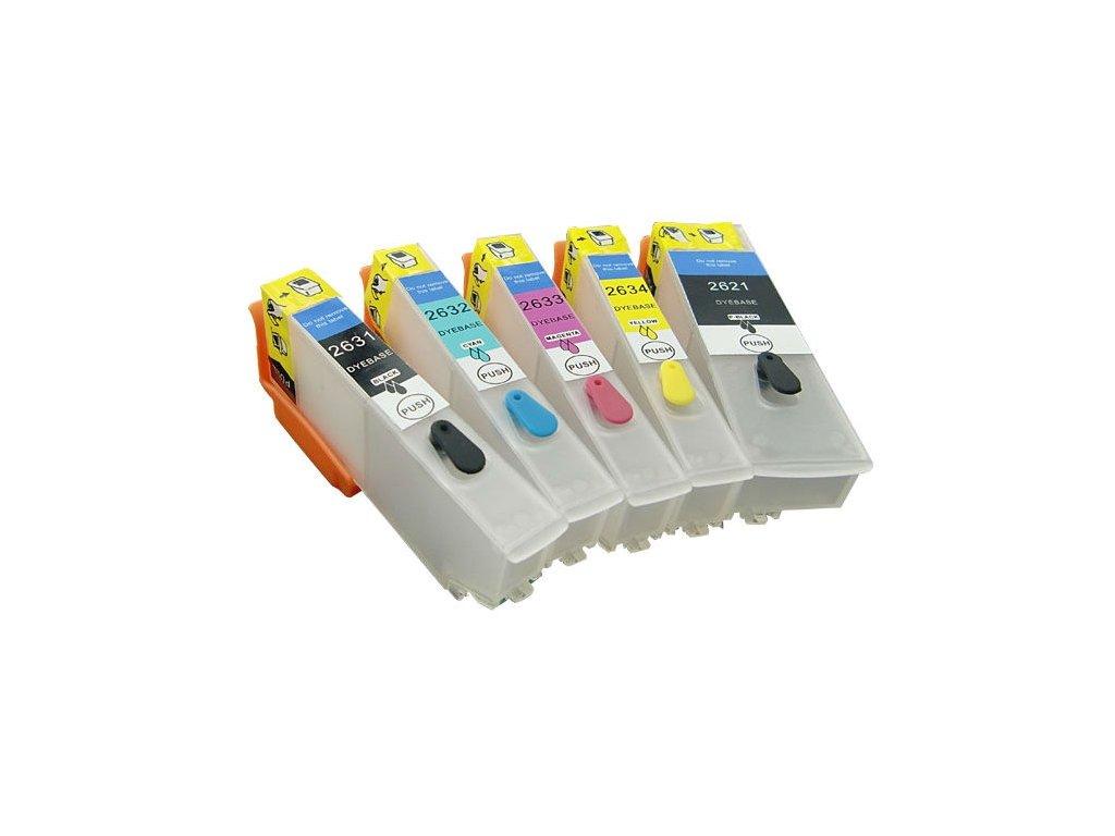 Epson T2621,T2631-T2634 plniteľná sada kaziet
