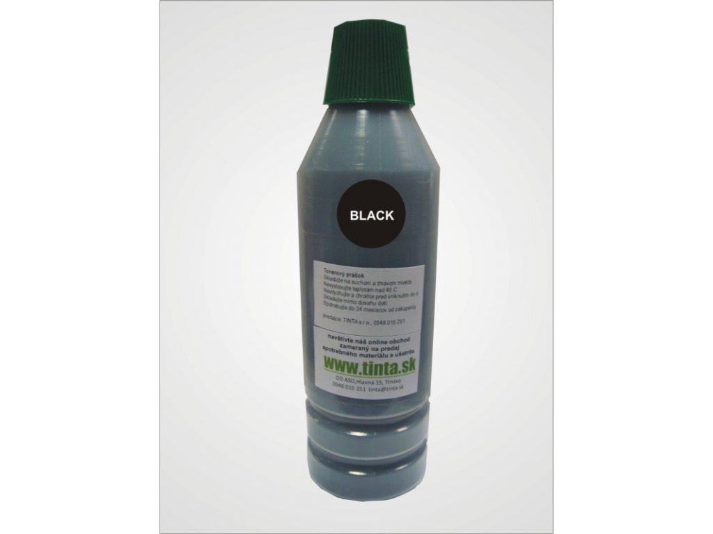 Tonerový prach HP CB380A - black