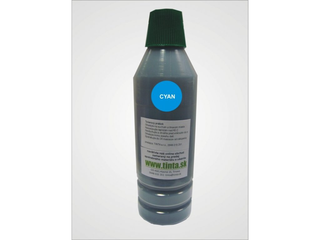 Tonerový prach  HP CE411A - cyan