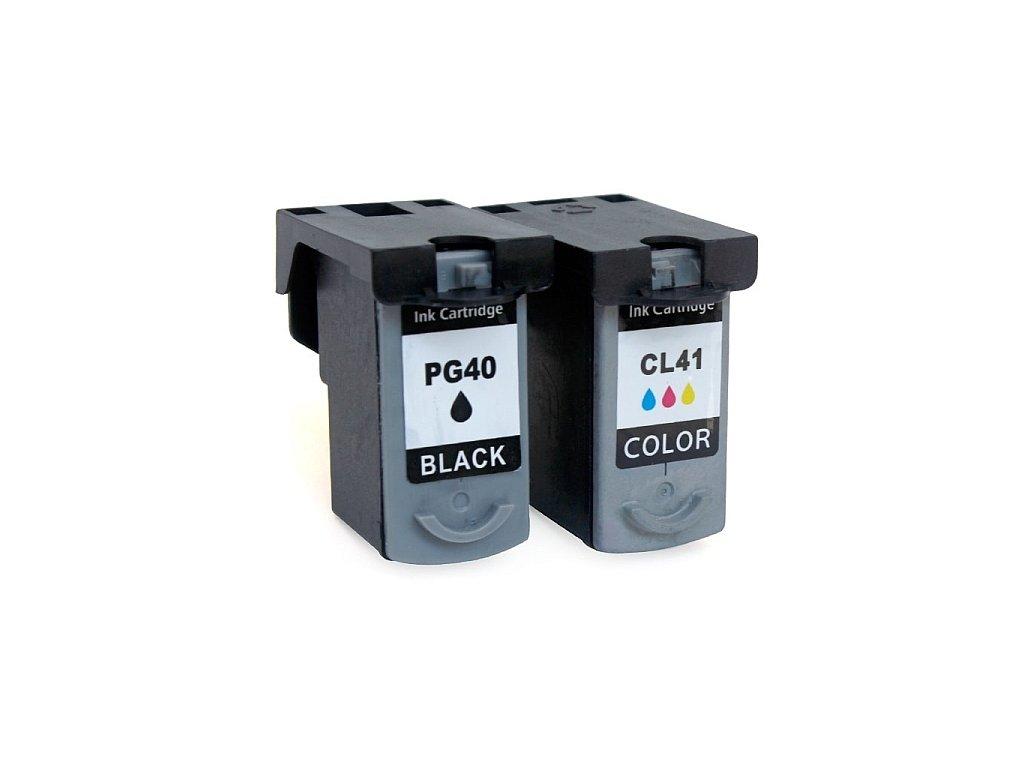 Canon PG-40 black + CL-41 color - kompatibilný