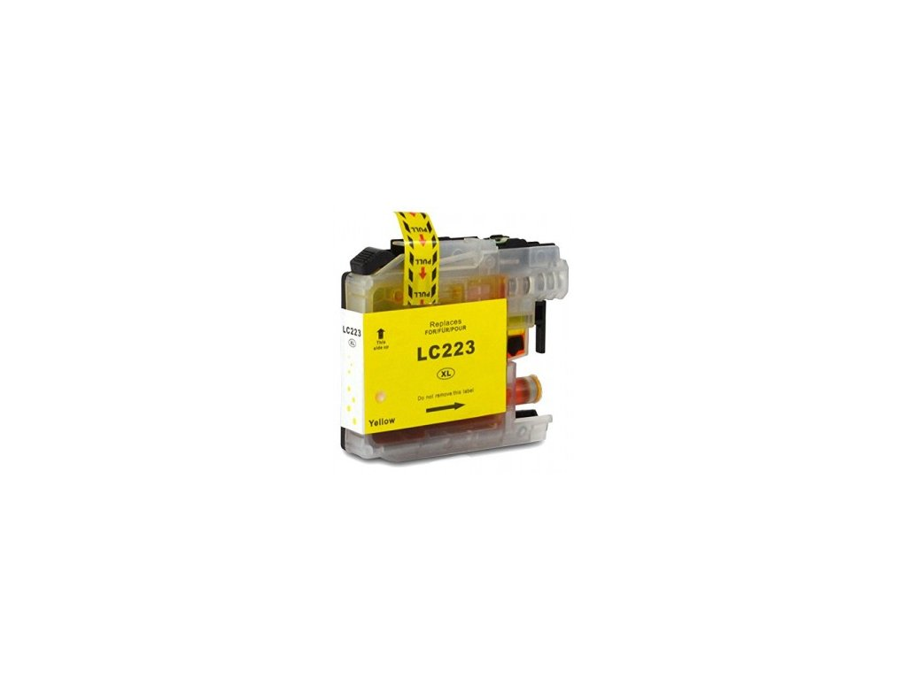 brother lc223 yellow kompatibilna kazeta