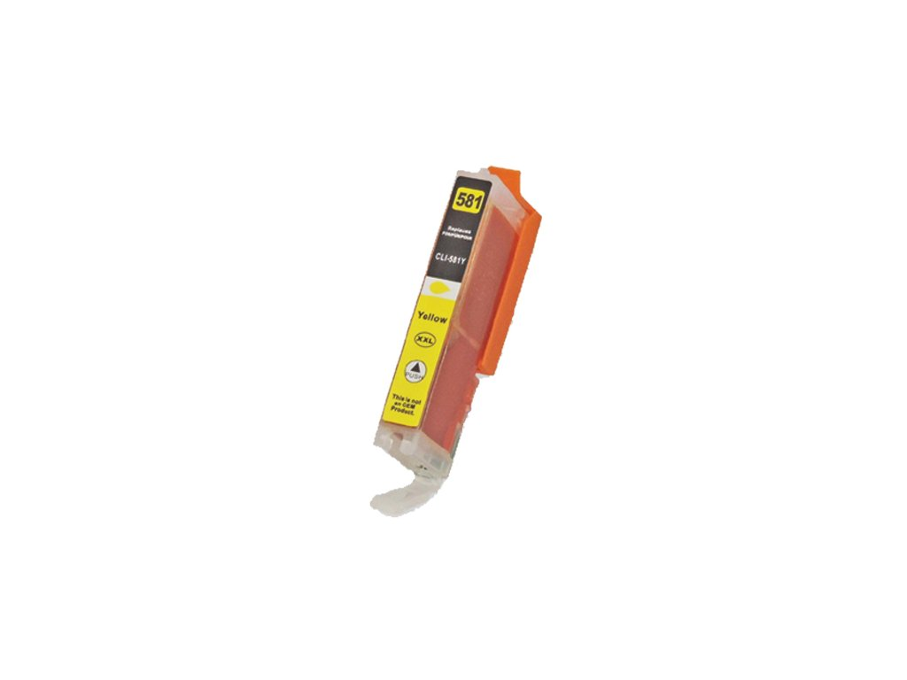 canon cli581xxly yellow kompatibilny cartridge