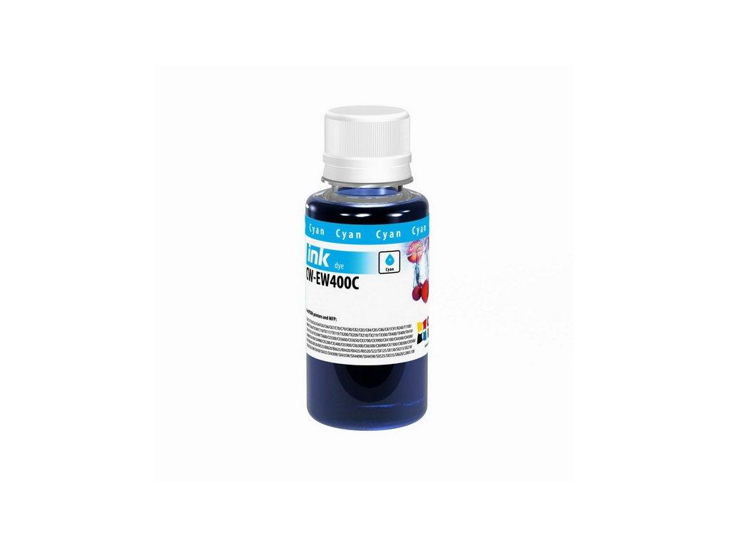 Atrament Epson Cyan - 100ml/200ml (pre 4-farebné tlačiarne) (Objem fľaše 200ml)