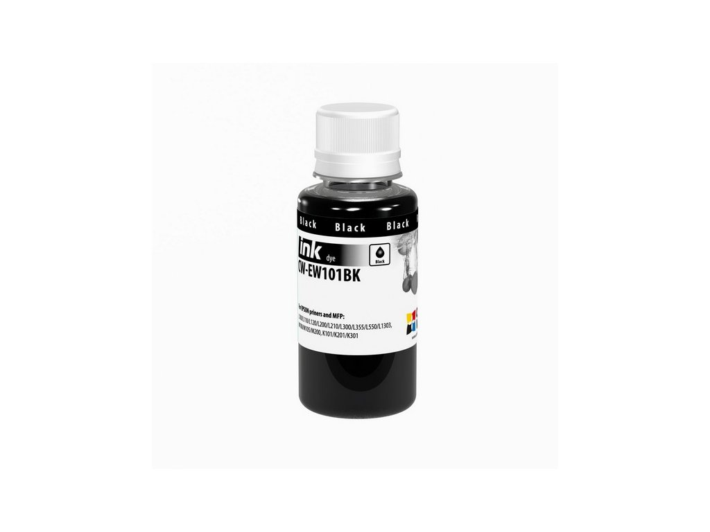 Atrament EPSON L-séria (T6641) 100ml - black