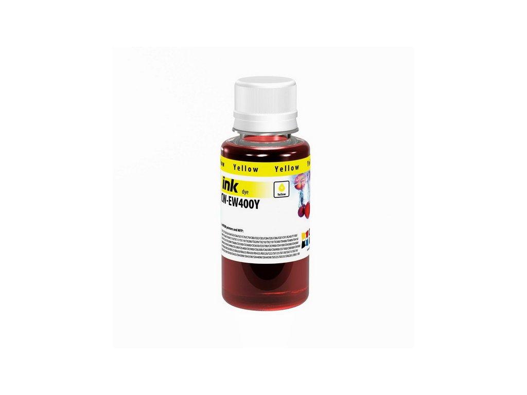 Atrament Epson Yellow - 100ml/200ml (pre 4-farebné tlačiarne) (Objem fľaše 200ml)