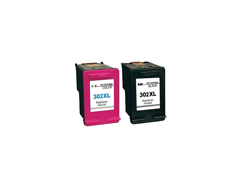 hp 302xl alternativne cierna farebna sada vyhodna cena tinta.sk