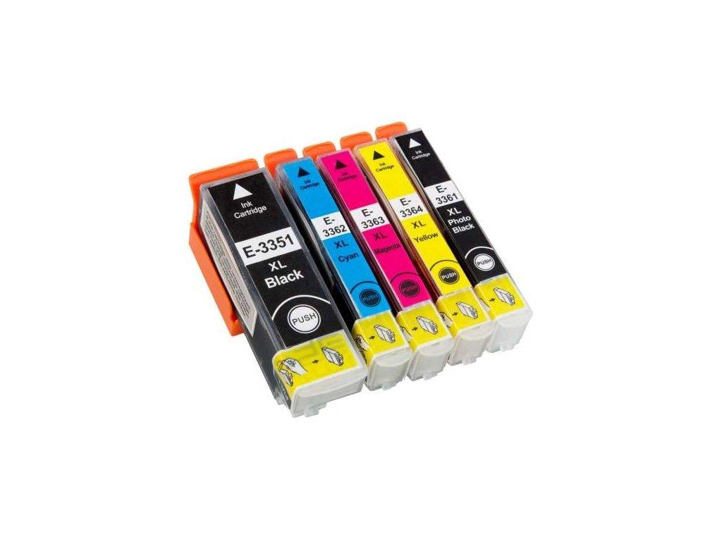 epson t33xl mulltipack vyhodna sada t3351 t3361 t3362 t3363 t3364 xl nahrada lacna napln tinta.sk