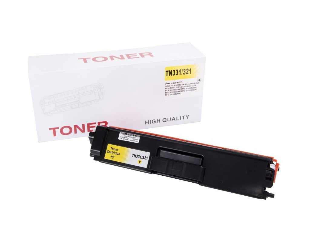 brother tn321 tn331 yellow žltý alternativny kompatibilny toner lacny tinta.sk