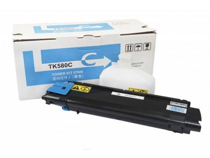 Kyocera Mita kompatibilná tonerová náplň, TK580C - cyan
