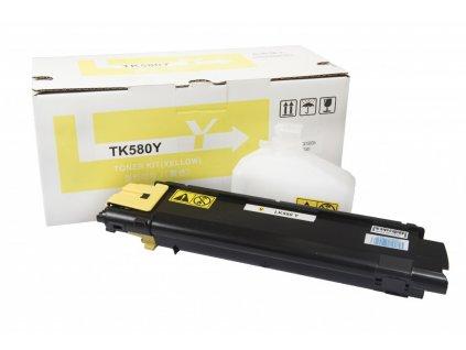Kyocera Mita kompatibilná tonerová náplň, TK580Y - yellow