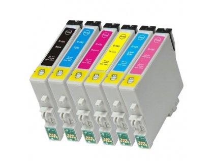 Epson T0487 multipack - kompatibilný