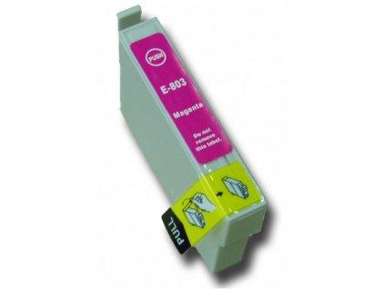 Epson T0803 magenta - kompatibilný
