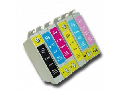 Epson T0791-T0796 (T0797) multipack 6x náplň - kompatibilný