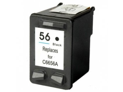 HP 56 (C6656A) black - kompatibilný