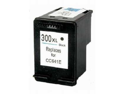 HP 300XL (CC641EE) black - kompatibilný