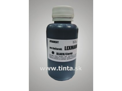 Atrament Lexmark - black (100ml)