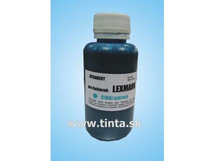 Atrament Lexmark - cyan (100ml)