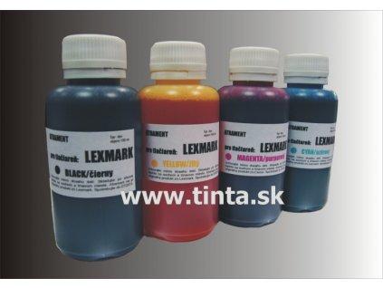 Atrament LEXMARK 4x100ml pack