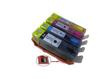 HP 920 plniteľná sada kaziet+čipy