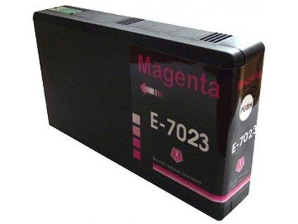Epson T7023 magenta - kompatibilný