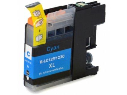 Brother LC-125 XL cyan - kompatibilný