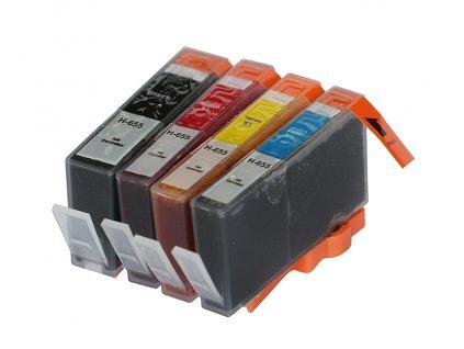 HP 655 XL multipack (Black,Cyan,Magenta, Yellow) - kompatibilný
