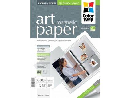 Fotopapier CW ART Matný Magnetický 650g/m?,5ks,A4