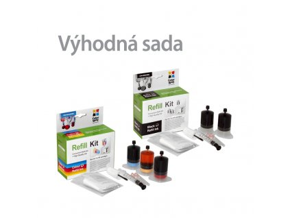 Plniaca sada CW HP (black+color) - sada