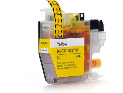 brother lc3219 xl yellow kompatibilna napln tinta.sk
