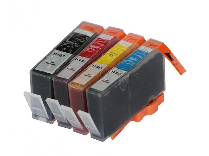 HP 655 XL multipack - kompatibilný