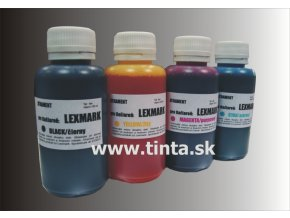 Atrament LEXMARK 4x100ml pack