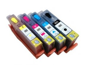 HP 655 XL plniteľné kazety