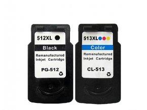 Canon PG-512 black + CL-513 color - kompatibilný