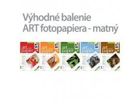Fotopapier CW ART 220g/m?,matný,10ks,A4 - 5pack