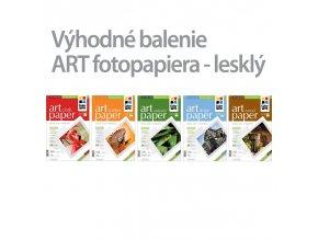 Fotopapier CW ART 230g/m?,lesklý,10ks,A4 - 5pack